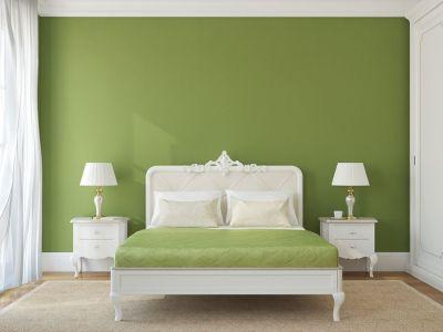 zelena-v-spalni