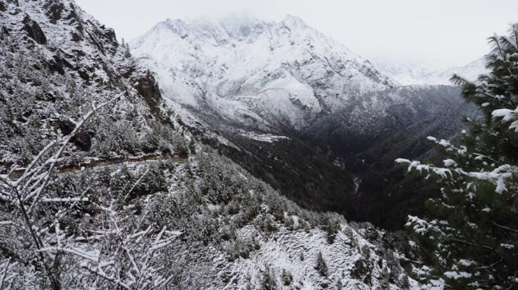【ネパール】エベレストトレッキング4日目(ナムチェ〜テンボチェ)