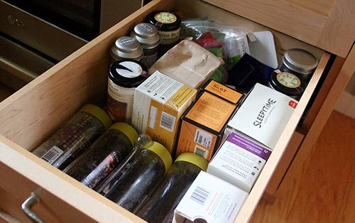 Jason's tea drawer