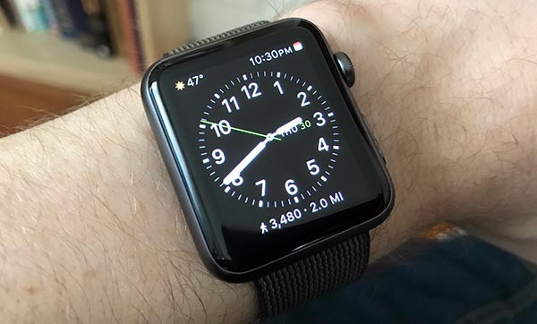 Dan's Arm and an Apple Watch