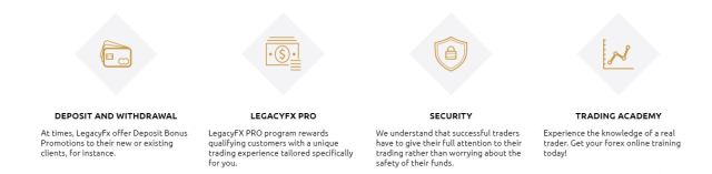 legacy fx broker | Legacyfx features