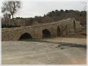 Restauración de puente medieval en Capella