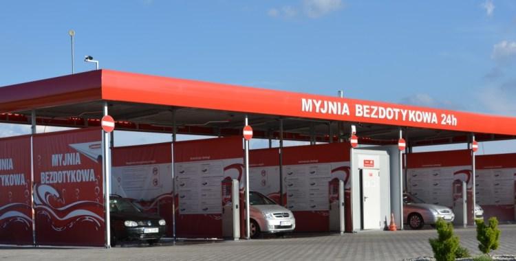 Myjnia bezdotykowa w Sycowie
