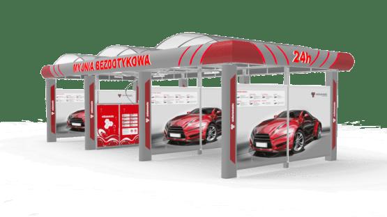 Spălătorie auto cu tehnologie modulară