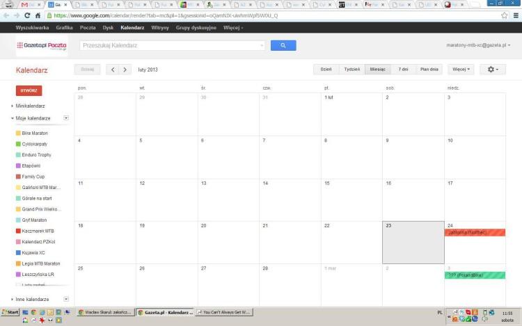 Kalendarzowy updejt – Kujawia XC, Mazovia MTB, Thule Cup