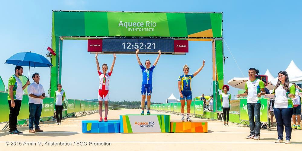 Maja Włoszczowska (Kross Racing Team) – Próba olimpijska – Rio, Brazylia