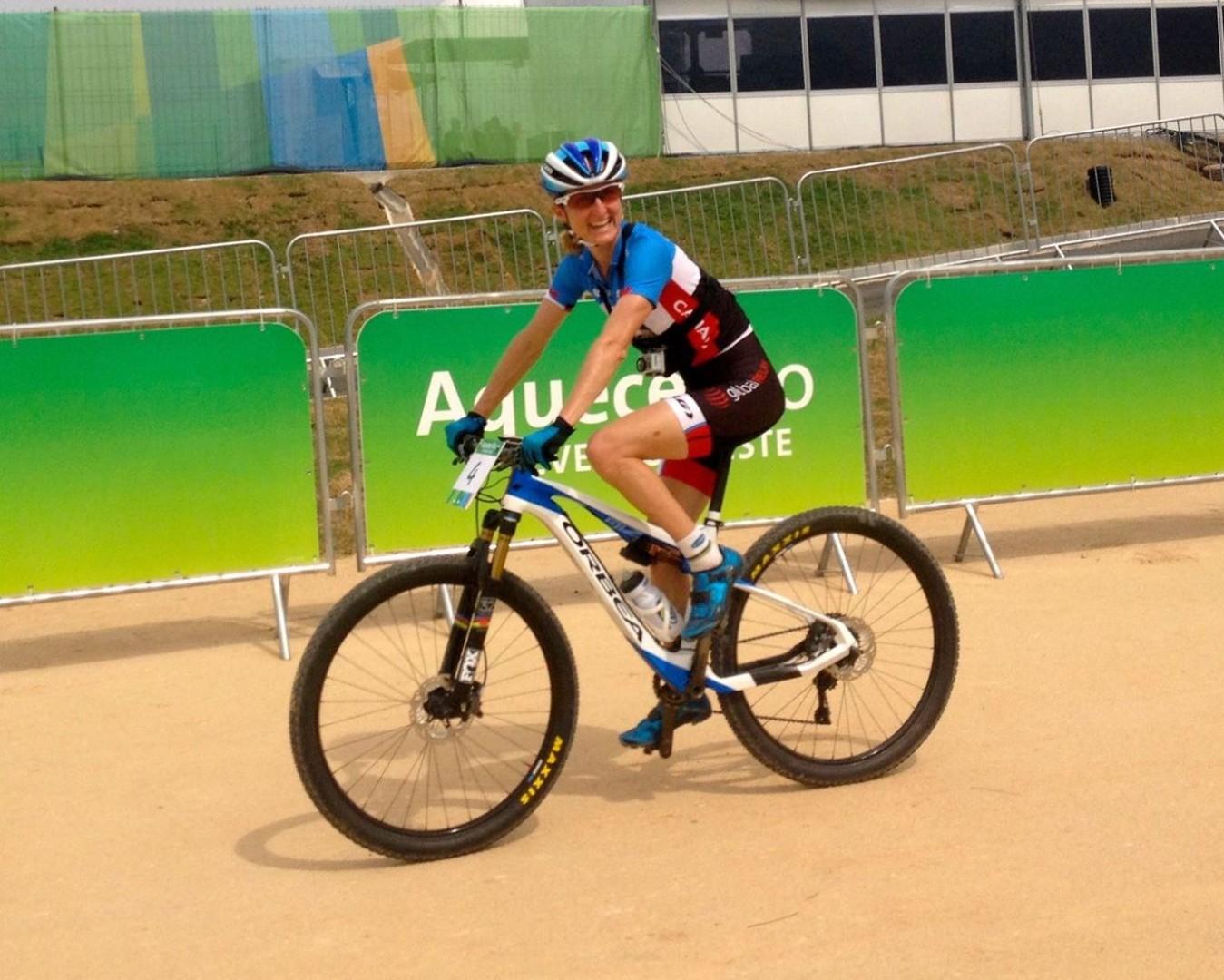 Catharine Pendrel (Luna Pro Team) – Próba olimpijska – Rio, Brazylia