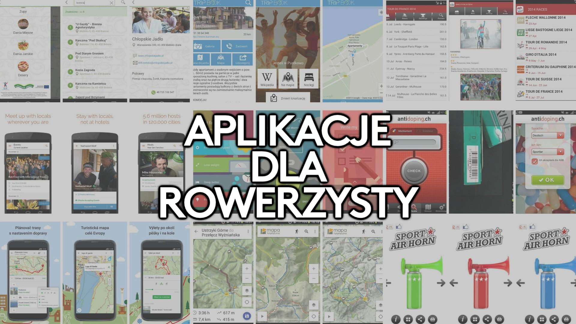 Aplikacje na smartfona przydatne dla rowerzysty #2