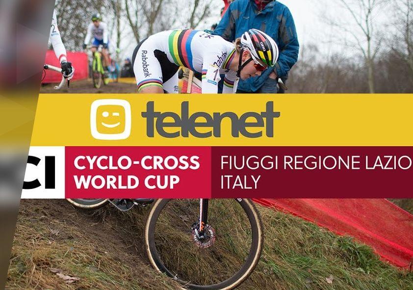 Relacja na żywo: Telenet UCI Cyclo-cross World Cup – Fiuggi (ITA)
