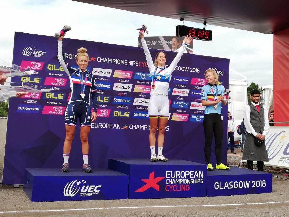Jolanda Neff Mistrzynią Europy, Maja Włoszczowska tuż za podium.