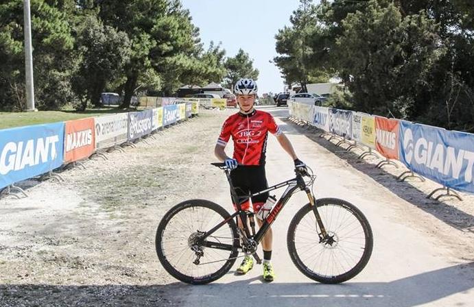 Mateusz Nieboras (JBG-2 MTB Professional Team) – UCI Junior Series, Bad Sackingen, Niemcy