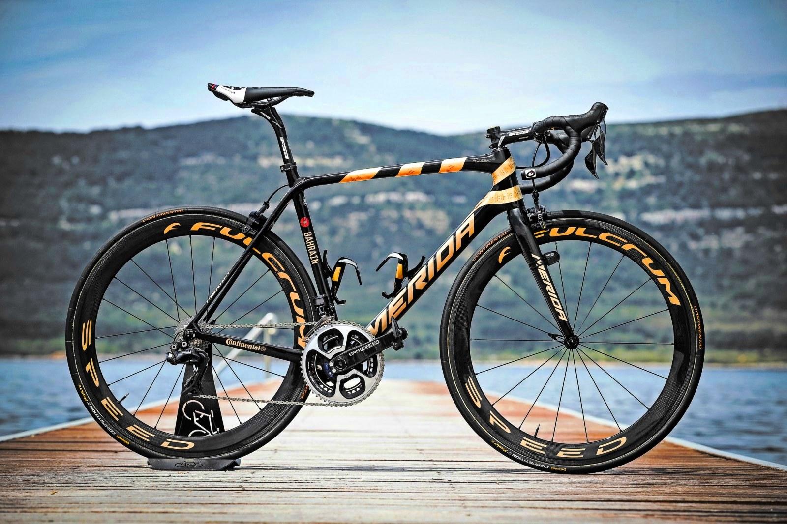 Złoty rower Nibalego na Kielce Bike-Expo