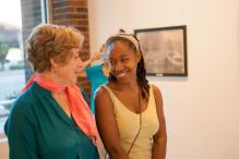 Grand opening reception at the Mount Baker Neighborhood Center for the Arts.