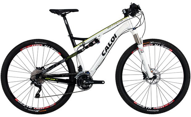Bicicleta MTB full suspension Caloi Elite FS  MTB Braslia