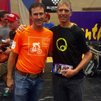 Dave Wiens, Leadville legend after the award ceremony