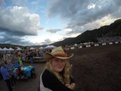 Madison enjoying the Rodeo