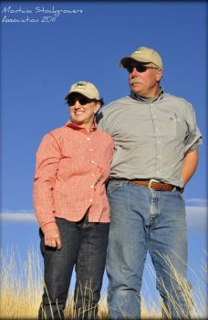 Montana Stockgrowers Association Board of Directors member Mark Harrison and wife Patti