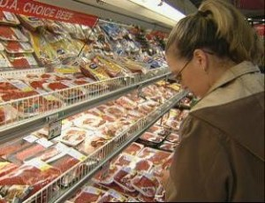 beef consumer demand meat case