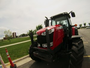 If you're on the MSU campus, keep an eye out for our Massey Ferguson tractor to designate our reserved parking lot this week! Also, don't forget to purchase your raffle tickets for the chance to win an 8-month/200-hour lease for this tractor!