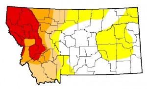 Montana Drought Monitor August 20