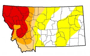 Montana Drought Monitor September 3