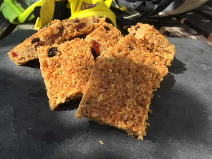 Raisin, Cherry and Honey Flapjack