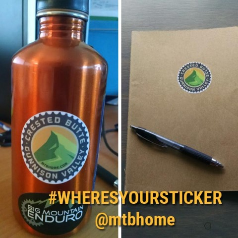 where's your Crested Butte and the Gunnison Valley sticker?