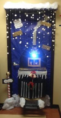 Christmas Door Decorating Contest Reindeer | Flisol Home