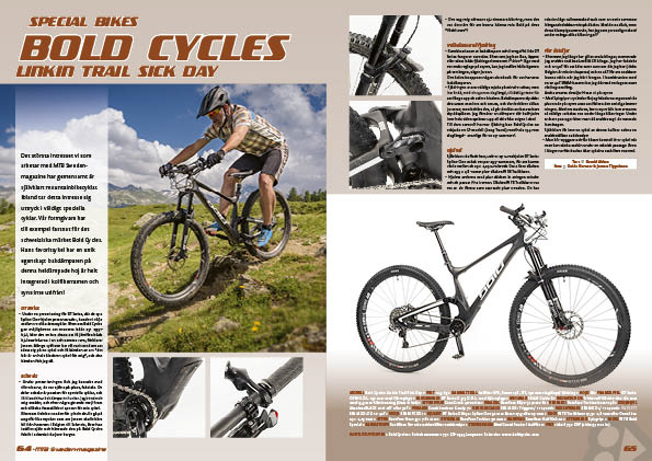 Special bikes – Bold Cycles Linkin Trail Sick Day