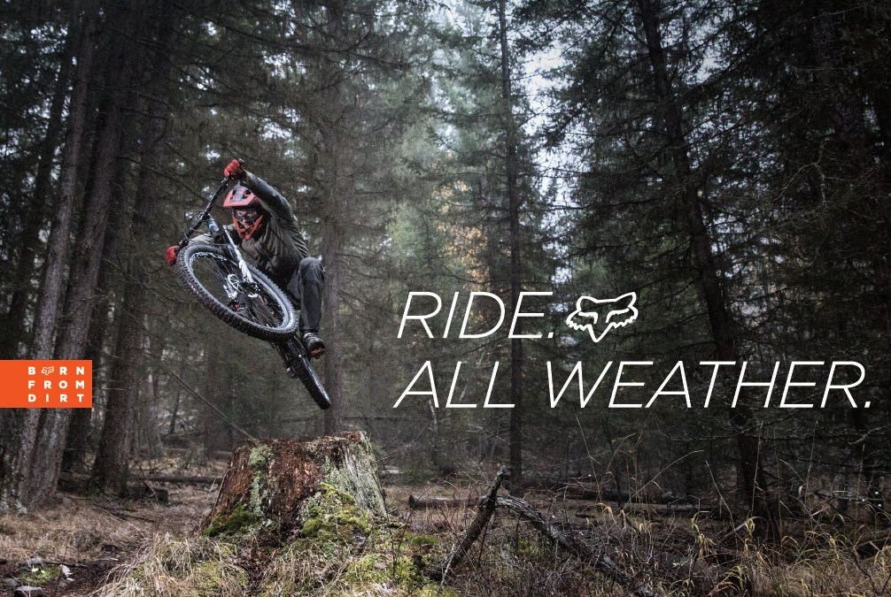 "Fox Racing kommer med helt nya ""All Weather MTB Collection"""