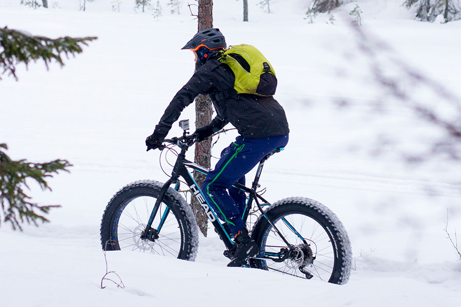 test fatbikes: Head Randell II