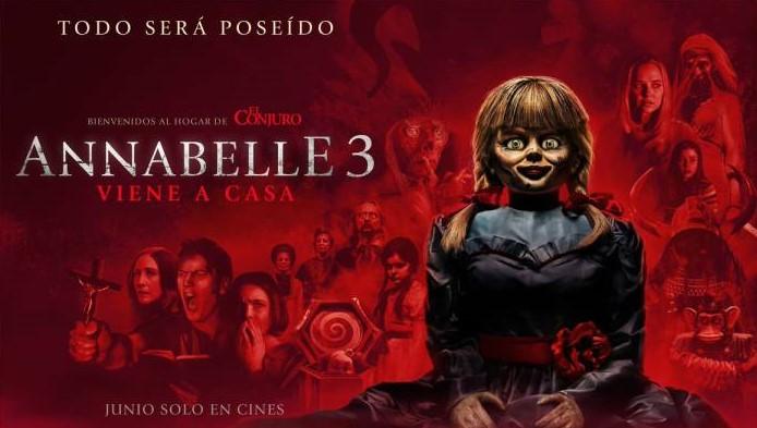 Annabelle 3 Viene a Casa (2019) 720p y 1080p Latino