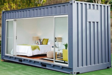 Assembled house applied as residential room in yard