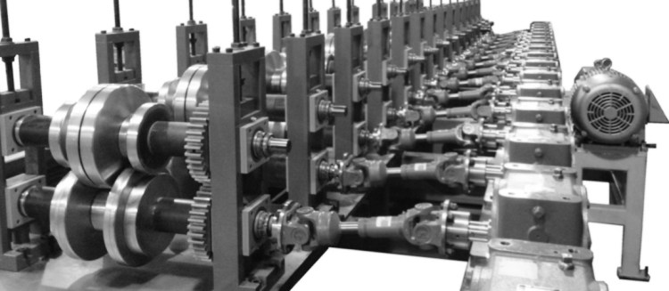 cassette type roll forming machine