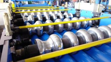 corrugation sheet roll forming machine