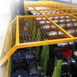glazed tile roll forming machine for step roof