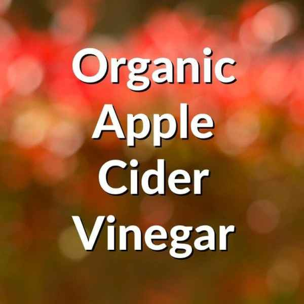 Organic Apple Cider Vinegar - Raw and unfiltered with the Mother