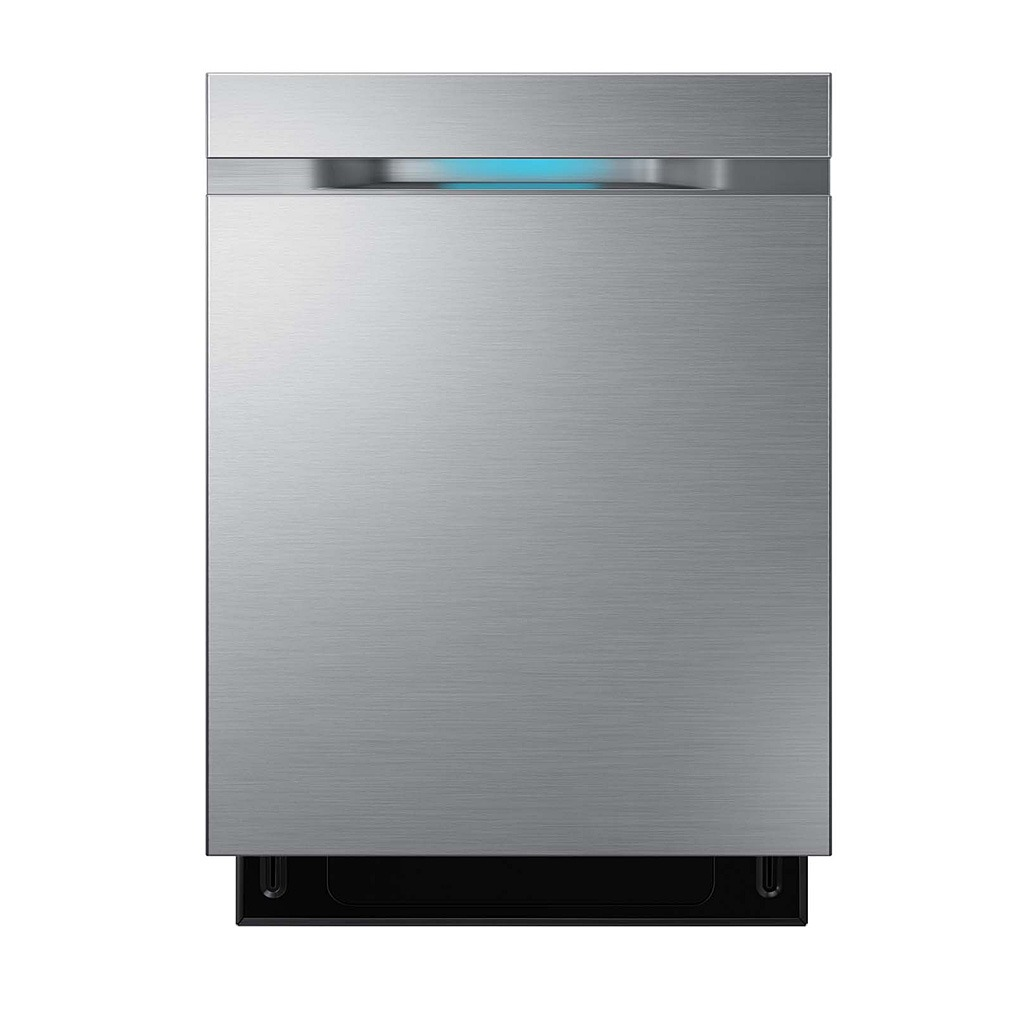 Samsung 44 dBA Waterwall Dishwasher Stainless Steel DW80H9930US, DW80J9945US
