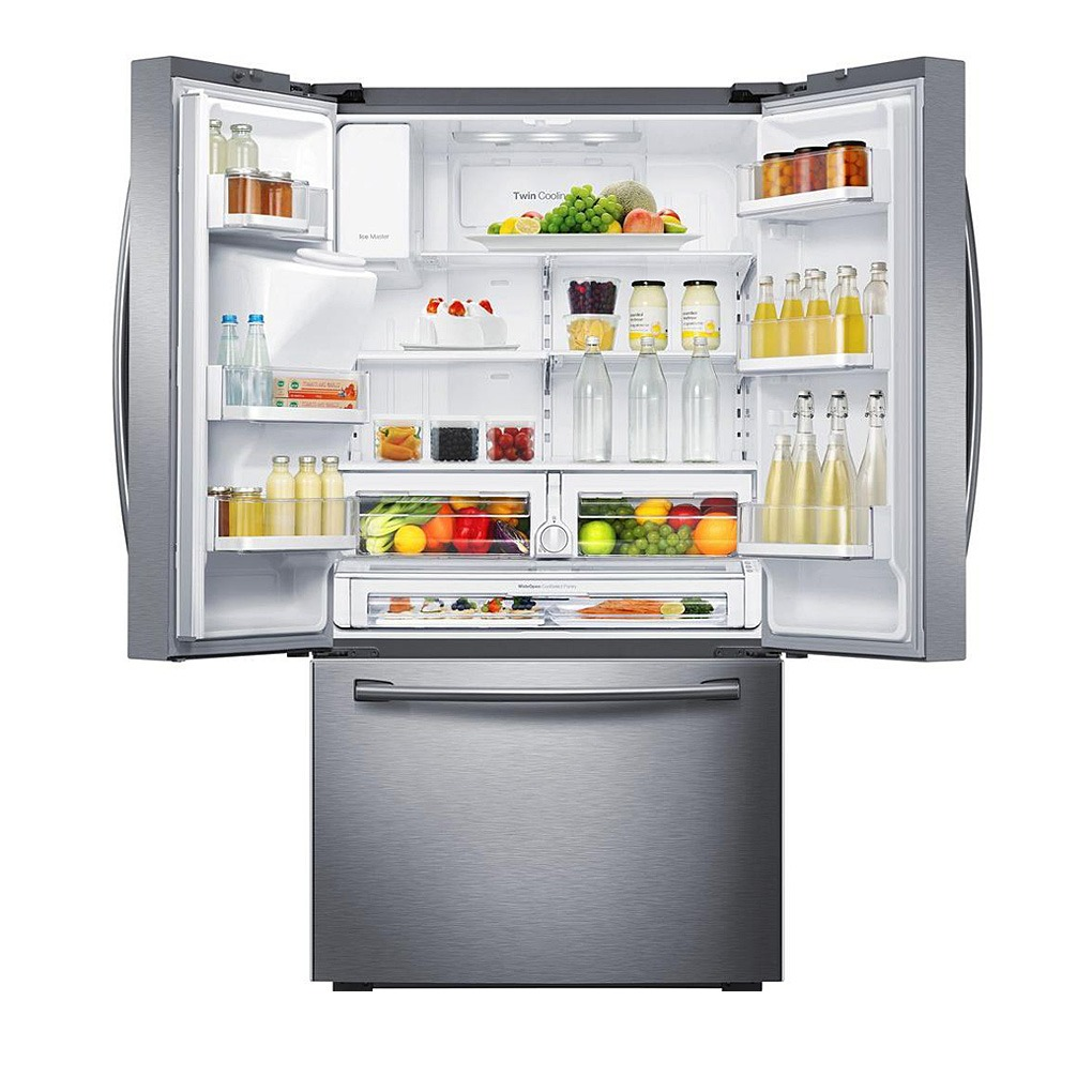 Samsung 23 Cu Ft 3 Door French Door Refrigerator Ss