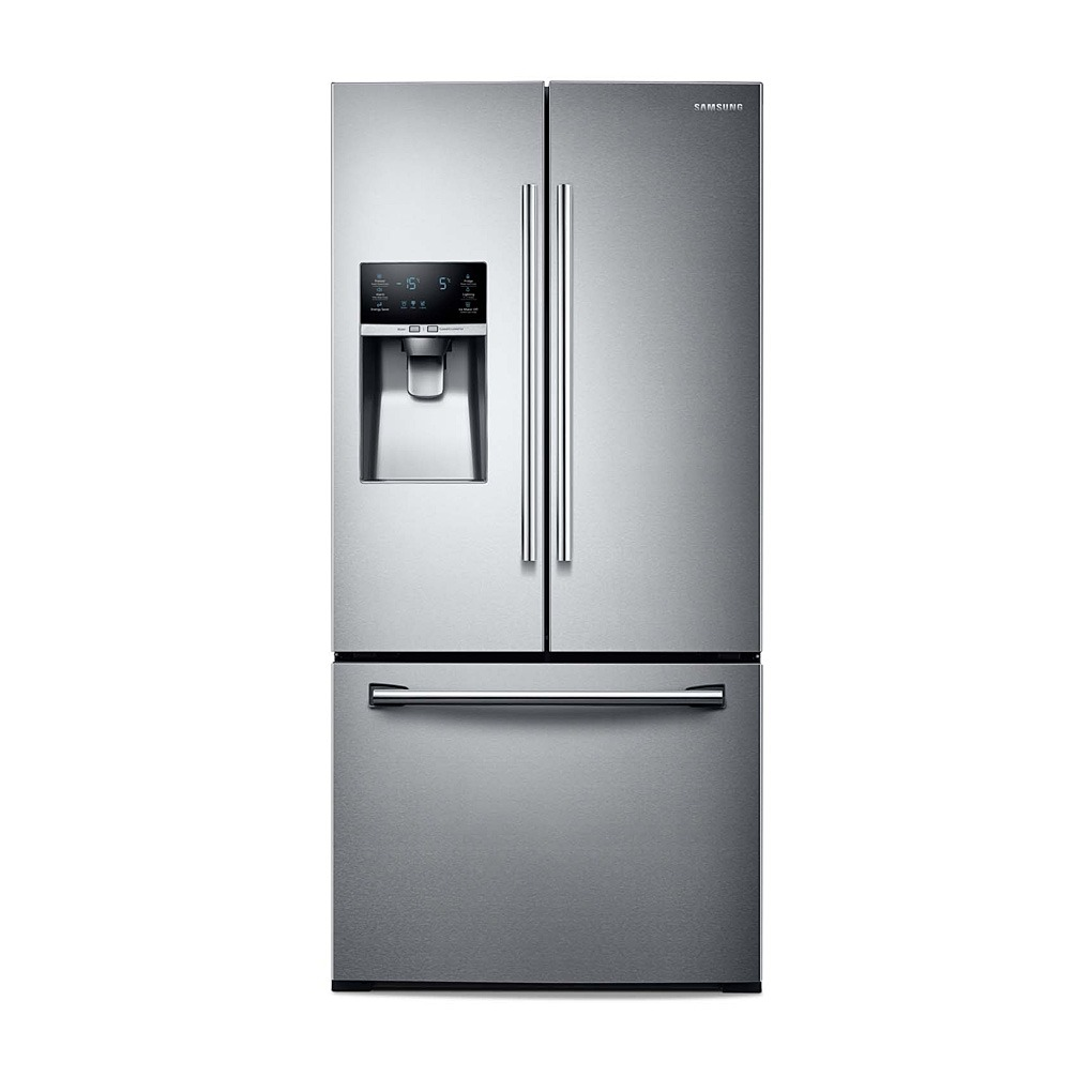 "Samsung 32.6"" 25.5 Cu.Ft. 3-Door French Door Refrigerator RF26J7500SR/AA"