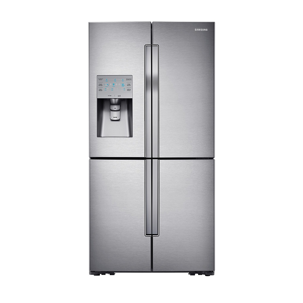 Samsung 31.8 cu.ft. 4-Door French Door Refrigerator Stainless Steel RF32FMQDBSR