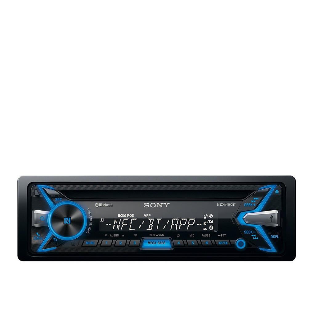 Car Audio System >> Sony Bluetooth Car Audio System Mexn4100bt