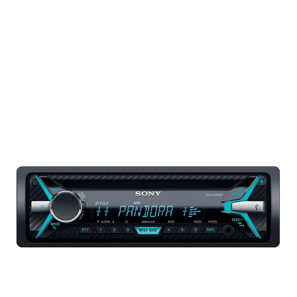 Sony Car Audio CD Receiver CDX-G3100UP