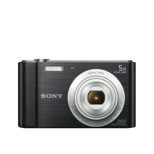 Sony Cybershot 20.1MP 5X Optical Digital Camera DSCW800B BLACK