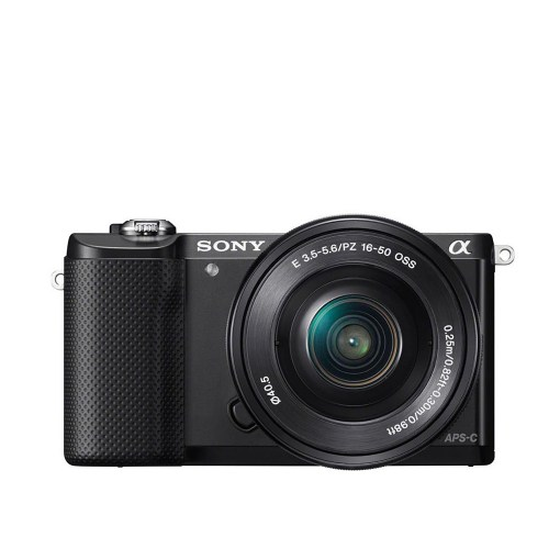 Sony Alpha a5000 Mirrorless Camera with 16-50mm Retractable Lens ILCE5000LB