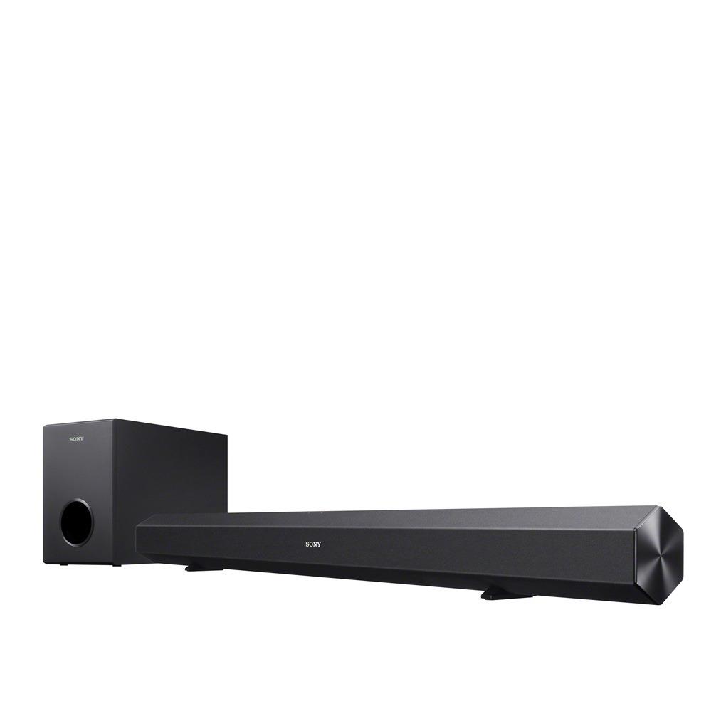 Sony 2.1 60 Watt Bluetooth NFC Sound Bar Wired Subwoofer HTCT60B