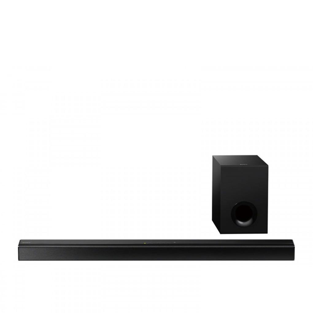Sony 2.1 80 Watt Bluetooth NFC Sound Bar Wired Subwoofer HTCT80
