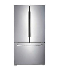 Samsung 25.6 cu.ft. 3-Door French Door Refrigerator Stainless Steel RF260BEAESRAA