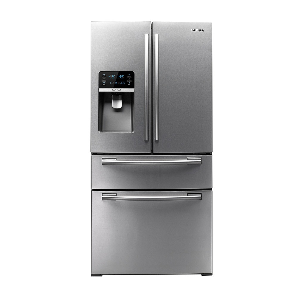 Samsung 25.5 cu.ft 4-Door French Door Refrigerator SS RF4267HARS/XAA