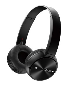Sony Bluetooth Wireless On-Ear Headphones MDRZX330BT - Black